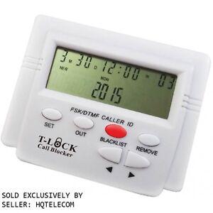 T-Lock Call Blocker, Y Splitter, Revised Manual, 2-Year Warranty