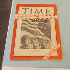May 14 1945 Time Magazine Hawaii Pony Edition Victory in Europe WWII News Photos