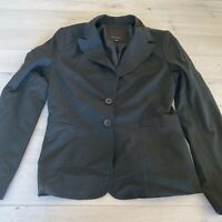 The Limited Black Collection Womens Lined Blazer Suit Jacket Size 8