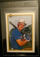 1990 BOWMAN #117 LARRY WALKER ROOKIE CARD MONTREAL EXPOS GEM MINT HALL OF FAME