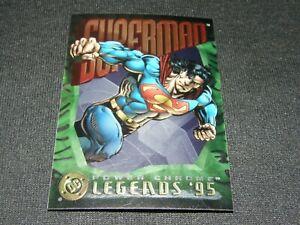 1995 SKYBOX  SUPERMAN  DC POWER CHROME LEGENDS '95 / PROMO CARD
