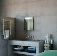 Illuminated Bathroom Mirror with Sensor, Shaver and Demister - Phoenix - c9011