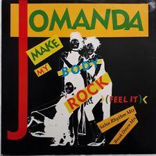 "Jomanda-Make My Body Rock (Feel It) 12"" Single.1989 RCA PT 42750R."