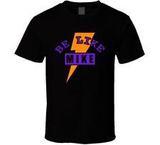 Purple T Shirt For Jordan 6 Vi Gatorade Suede Be Like Mike Black T-shirt