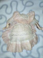 Superbe robe pour corps de bébé ancien, Jumeau ? Kestner ? Capi? Dans son jus100