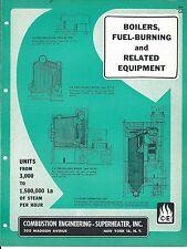 Equipment Brochure - Combustion Engineering - Boiler Stoker et al c1952 (E3315)