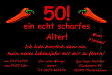 30 lustige Einladungskarten Geburtstag Einladungen Party JEDES ALTER 40 50 60 70
