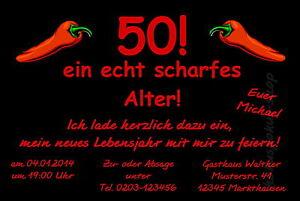 40 lustige Einladungskarten Geburtstag Einladungen Party JEDES ALTER 18 50 60 70