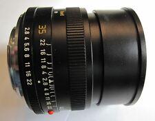 Leica Leitz ELMARIT-R 35mm f/2.8 Wetzlar Lens w Box, Case & UVa Filter. Germany