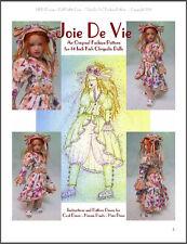 """""""Joie De Vie"""" Fashion Pattern for Kish Chrysalis"""