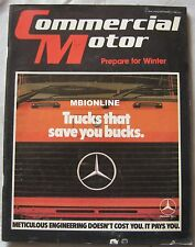 The Commercial Motor magazine 11/9/1982