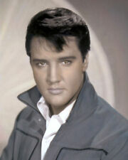 "ELVIS PRESLEY THE KING ROCK & ROLL SINGER & ACTOR 8x10"" HAND COLOR TINTED PHOTO"