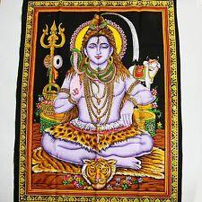 Wandbehang Bild Shiva Bild  Meditation Indien Thangka Altarbild Wandbild  10
