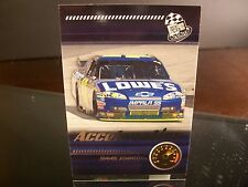 Jimmie Johnson #48 Lowe's Press Pass 2009 Card #210 ACCELERATION