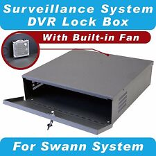 Crystal Vision Heavy Duty Swann Security Surveillance CCTV System DVR Lock Box