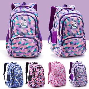 Kinder Mädchen Rucksack Schulranzen Schulrucksack Wasserdichte Schultasche DE