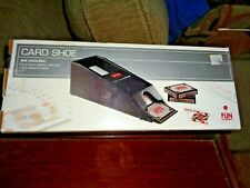 Card Shoe Set include 4 Deck Dealer's Card Shoe & 4 Deck of Cards New in Box