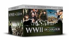 WWII IN COLOUR TEN 10 DVD COLLECTOR'S EDITION BOX SET ROBERT POWELL WORLD WAR 2