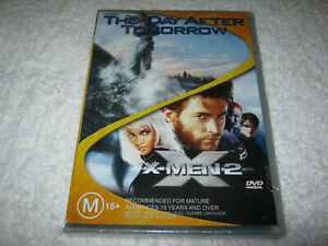 The Day After Tomorrow + X-Men 2 - New Sealed DVD - R4