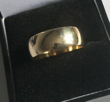 Men's/Women's 9ct Gold Vintage Wedding Band Ring Size U Weight 4.5g Stamped