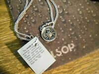 ~NWT James Avery 925 Sterling Silver Zodiac Cancer Pendant/Chain~