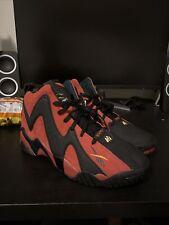 New listing Reebok Kamikaze II Retro Sonics Alternate Red Black FZ4006 Men Sz 12 AKA RainMan