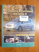Corsa D Revue Connaitre entretenir OPEL Etat - Sur Commande 15 J delais port 3E