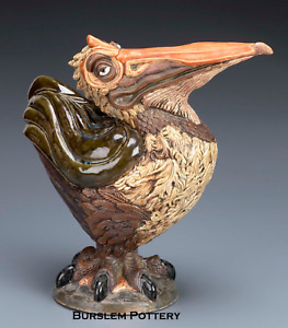 BURSLEM POTTERY STONEWARE GROTESQUE BIRD ALBERT INSPIRED BY MARTIN BROTHERS