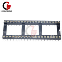 10Pcs 40Pin Female Single Row Round Pin Header Socket Strip Tin PCB Breakable CZ