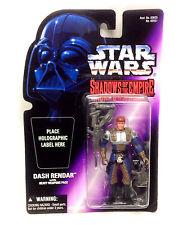 "STAR WARS Expanded Universe DASH RENDAR 3.75"" toy figure ERROR PACKAGING RARE"