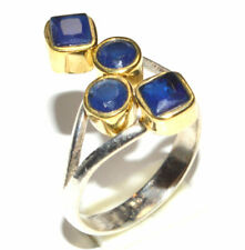 Sapphire 925 Sterling Silver Ring Jewelry s.6.5 JB16581