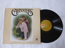 THE CARPENTERS ~ S/T ~ ORIGINAL A&M UK 1971 POP ROCK VINYL LP ~ PLAYS NICELY
