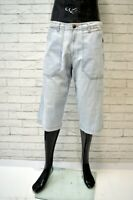 WRANGLER Bermuda Uomo Jeans Taglia 48 Pants Pantalone Corto Shorts Cotone Denim