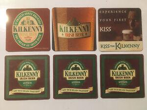 6 x Kilkenny Beer Mats (2) (11.1)