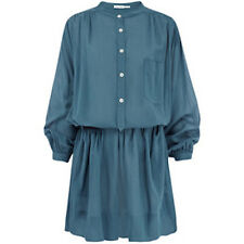 ETOILE ISABEL MARANT Blue Iban Belted Shirt dress. UK 10 VGC. RRP £260