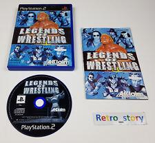 PS2 Legend Of Wrestling PAL