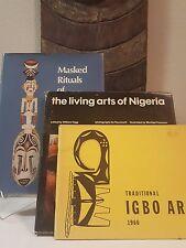 Tribal Exotics African Art book bundle (3) - Afikpo Mask Figure Sculpture Statue
