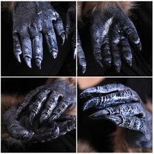 1 Pair Halloween Accessories Werewolf Gloves Hands Fancy Dress Costume Funny
