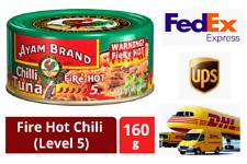 10 Cans CHILLI TUNA SPREAD FIRE HOT Ayam Brand FREE SPEEDY SHIPPING
