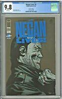 Negan Lives! 1 CGC 9.8 2nd Second Printing Edition Kirkman Adlard Walking Dead
