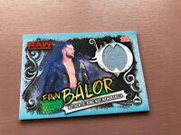 Topps Slam Attax Live: Finn Balor - Authentic Eing Mat Memorabilia RAW CARD