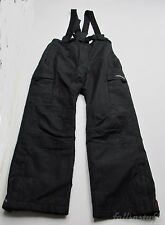 Ski Snow Board Pants, Trespass, Children's Kids Insulated Suspenders Size 10