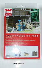 BUSCH HO 7808 Action Set: Wood Splitter with Figure + Accessorie Finshed Model#