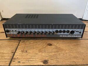 Gallien Krueger Backline 250 BL Solid State Bass Guitar Amplifier Amp Head