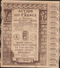 DECO => Constructions en Fer-Béton & Pierre Armée PAVCHOT (B)