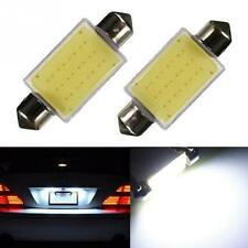 2PCs 41mm Festoon COB 12 Chips DC 12V LED Car Dome Reading Lights Car Lighting
