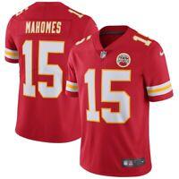 New Nike Kansas City Chiefs Patrick Mahomes #15 Vapor Untouchable Limited Jersey