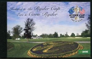 Ireland 2005 Ryder Cup Booklet SG# SP4 NH