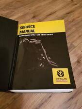 New Holland Service Manual Backhoe Loader Lb75b Lb90 Lb110 Lb115b