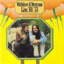Krautrock CD Witthüser und Westrupp Live 68 bis 73  2CDs  Ohr Pilz Label
